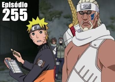 Naruto Shippuden 255 - O artista retorna