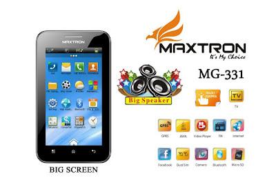 Harga dan Spesifikasi HP MAXTRON MG-331