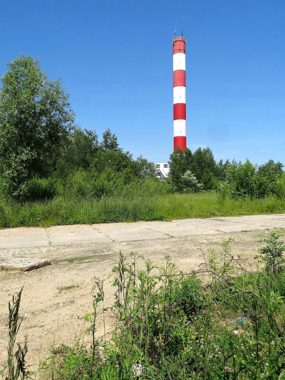 Komin Elektrociepłowni Kielce