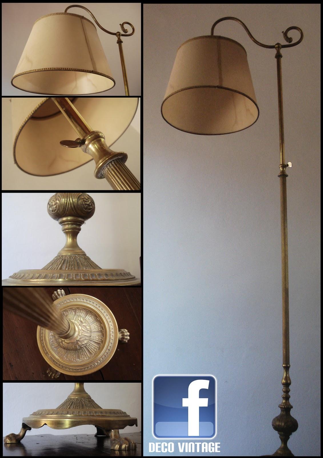 Lamparas antiguas deco vintage decoraci n del hogar lamparas de pie - Lampara de pie vintage ...