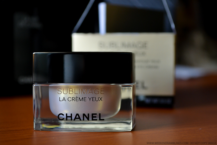 Chanel Sublimage La Creme Yeux Ultimate Regeneration Eye Cream - Antiaging Skincare - Review