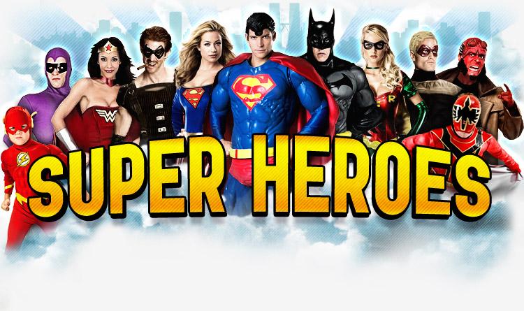favorite super heroes