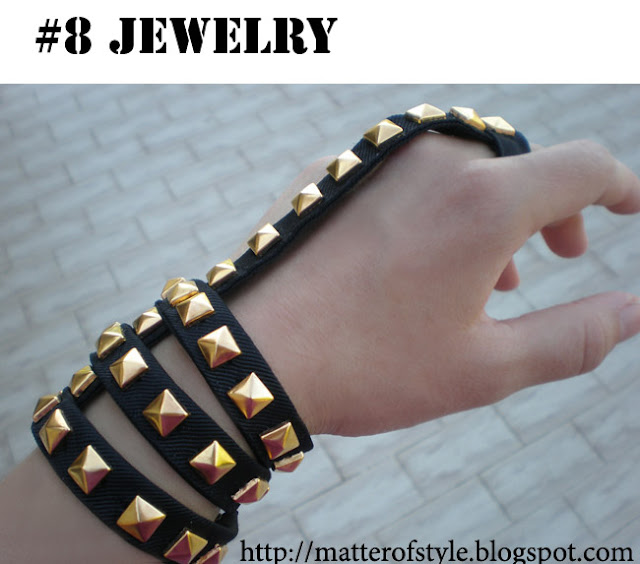 studded cuff
