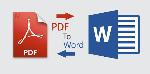 Cara Convert PDF ke Word Dengan Mudah