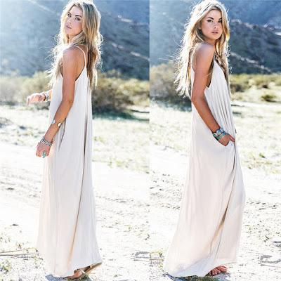 maxi vestido branco