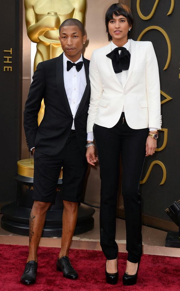 pharrell williams shorts oscars