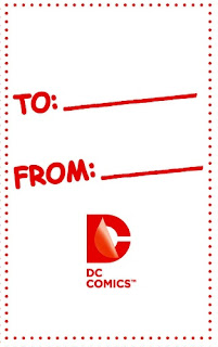 Back of Valentine's Day card from Young Romance #1
