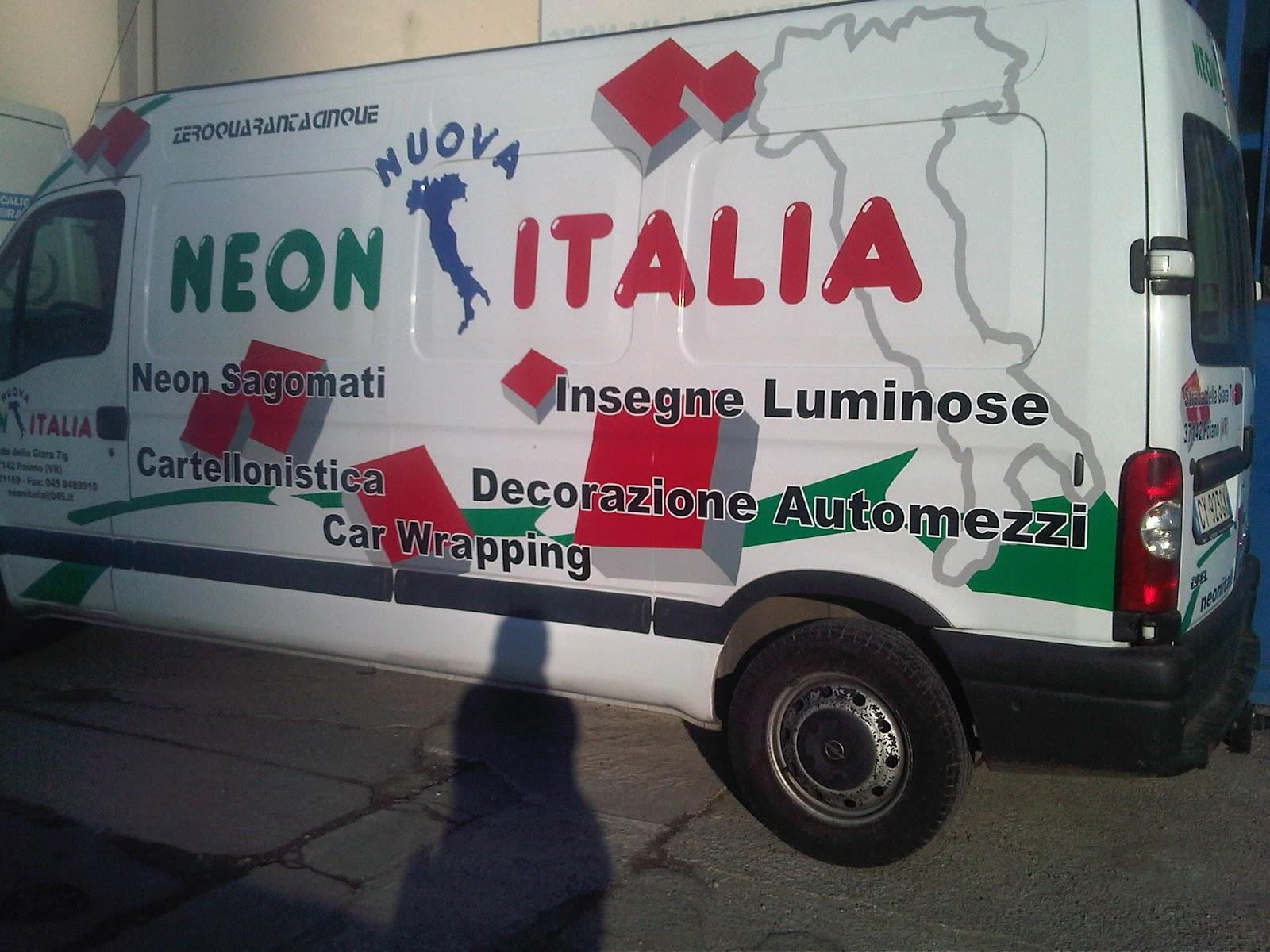 Nuova neon italia srl decorazioni automezzi for Wenko italia srl