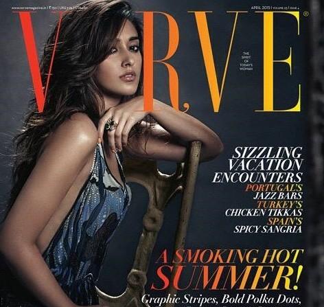 Ileana D'Cruz Covers Verve Magazine Photos