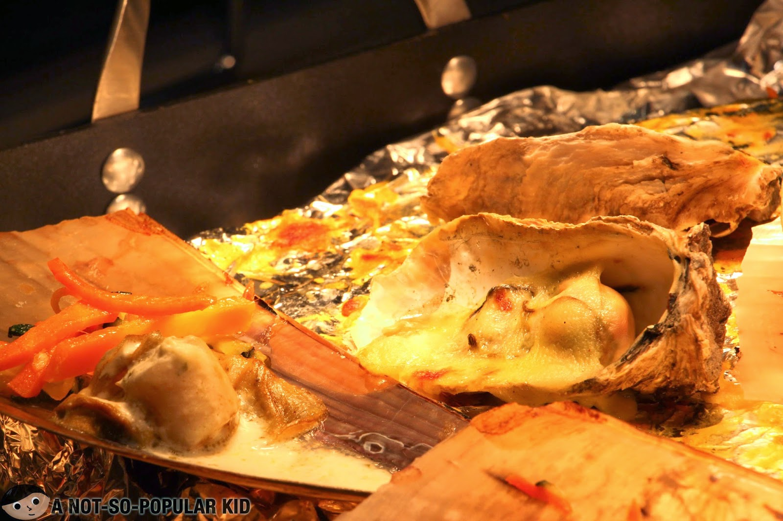 Fantastic baked oyster in Vikings Buffet