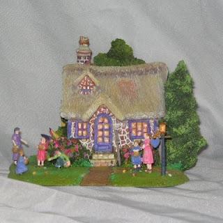Buy a Thomas Kinkade Easter Egg Hunt Cottage