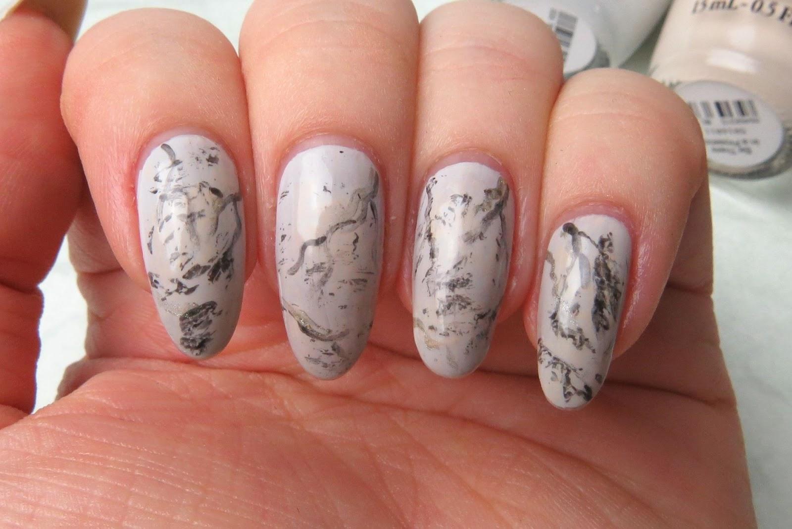 Mani Monday: Marbled Stone | Kaitlyn Elisabeth Beauty