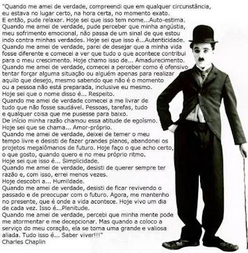 O gênio Clarles Chaplin