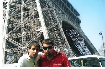 La Torre Eiffel, Paris, Francia.