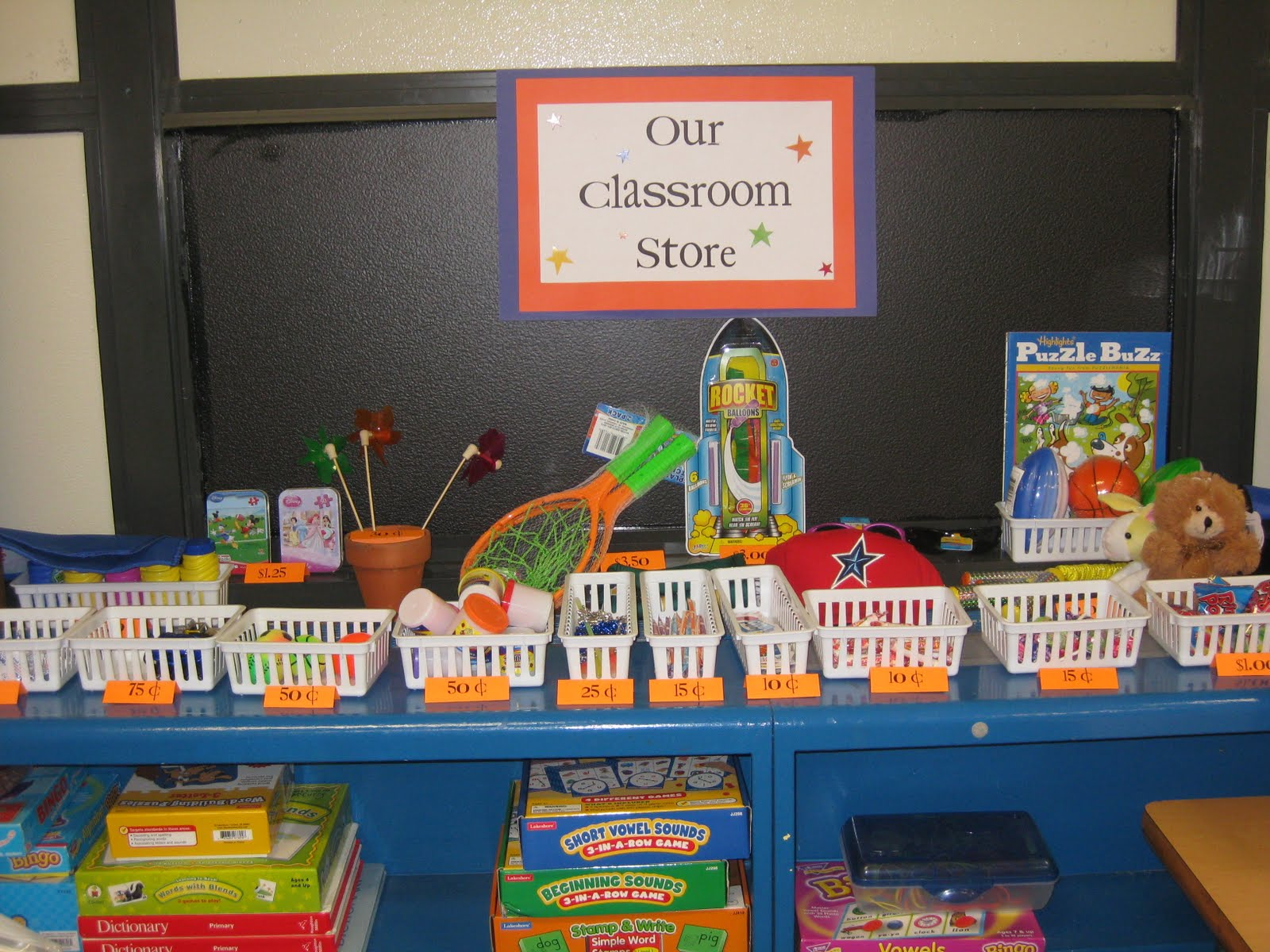 Classroom Decorations Store ~ Pencils and crayons books oh my classroom store