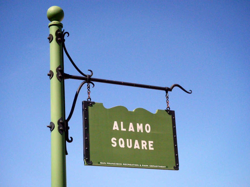 Style in Town: Get Closer to Nature...Alamo Square