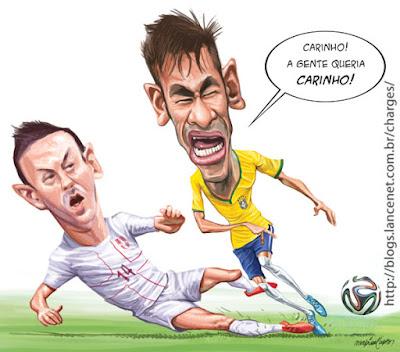 Neymar diz que Ministério Público o persegue a mando da mídia golpista, da elite branca e do FHC