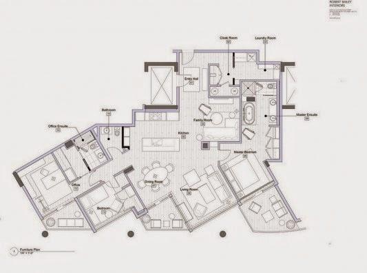 movéis para Casa contemporânea com design feminino