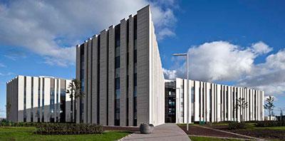 Ryder Architecture's stupendous CSI Gartcosh Building