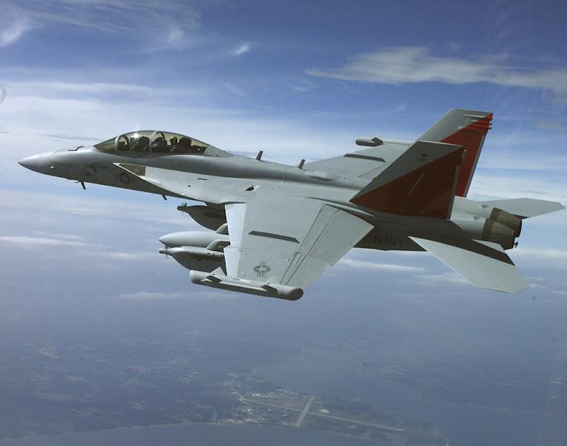 EA-18G Growler Electronic Attack Aircraft
