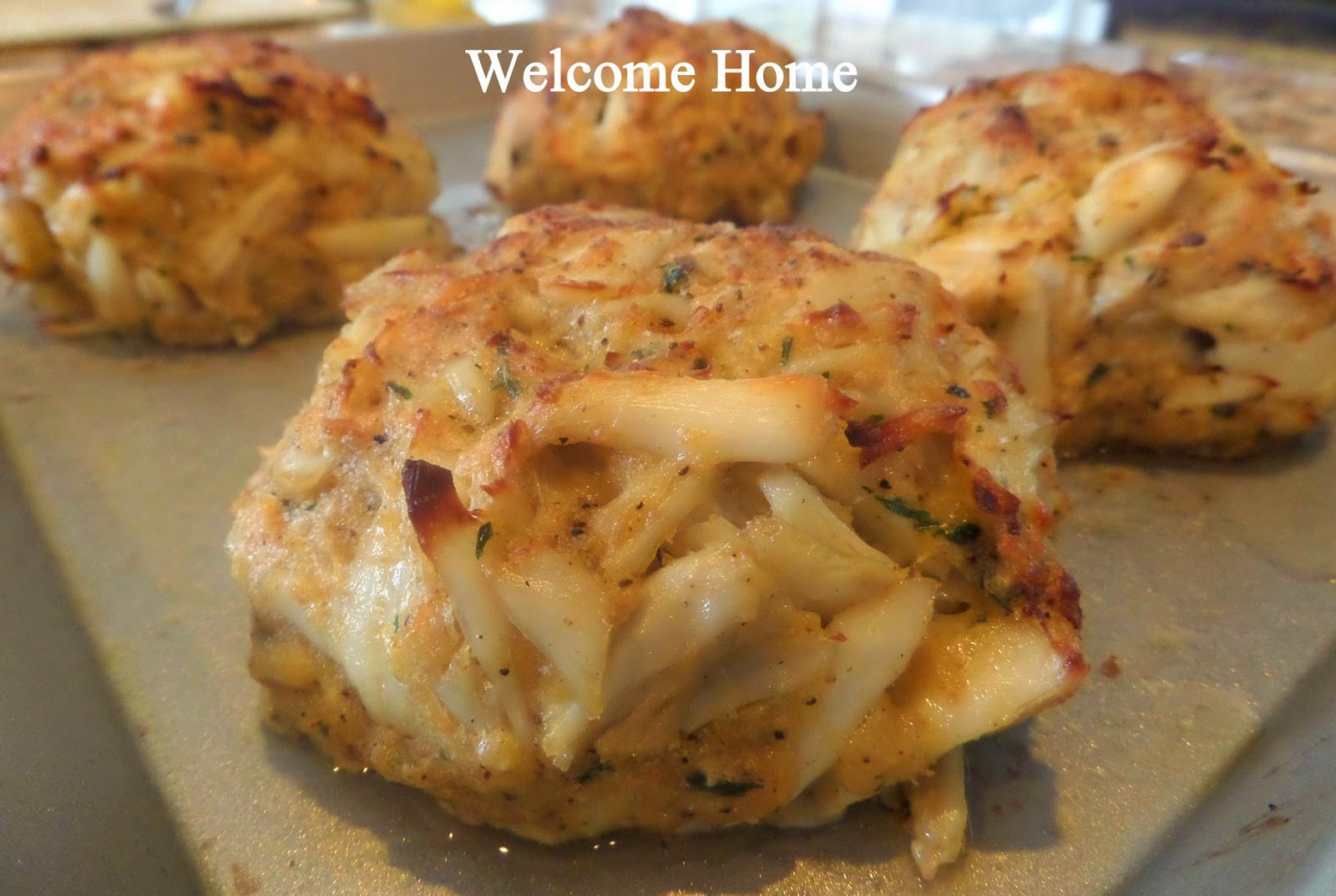 My Maryland Crab Cakes