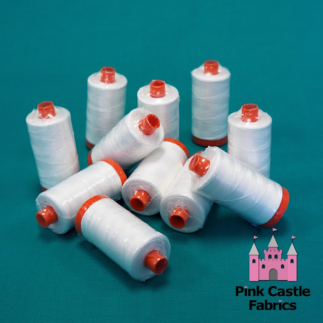 Aurifil thread at Pink Castle Fabrics