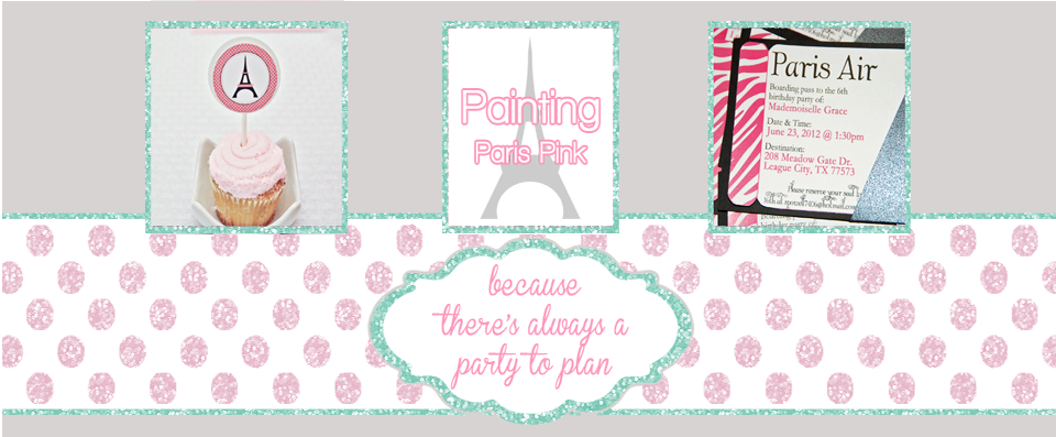 Painting Paris Pink