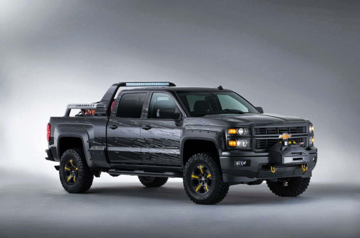 Chevy Debuts Two New Concept Trucks
