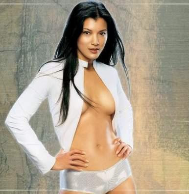 kelly hu wallpaper. Pretty Celebrity: Kelly Hu