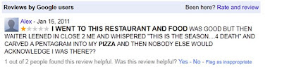 pentagram pizza review