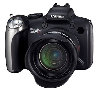 Canon SX20 IS Camera