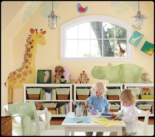 Kids Play Room Design on 25 Kids Playroom Design Ideas   Interior Exterior Design