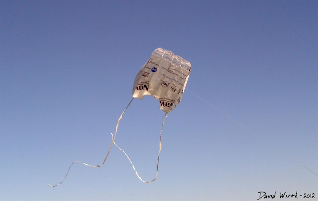 homemade kite, diy, tyvek, how to