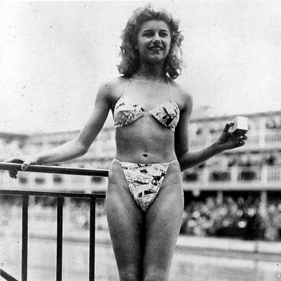 jaren 60 bikini