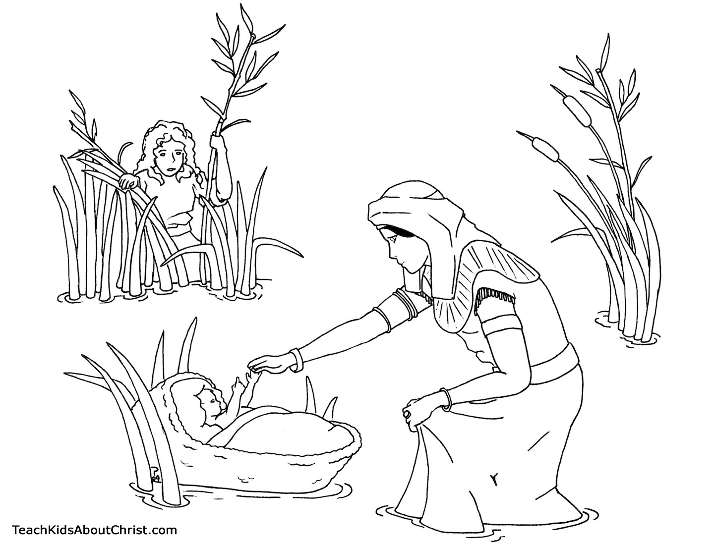Baby Coloring Pages Sleep