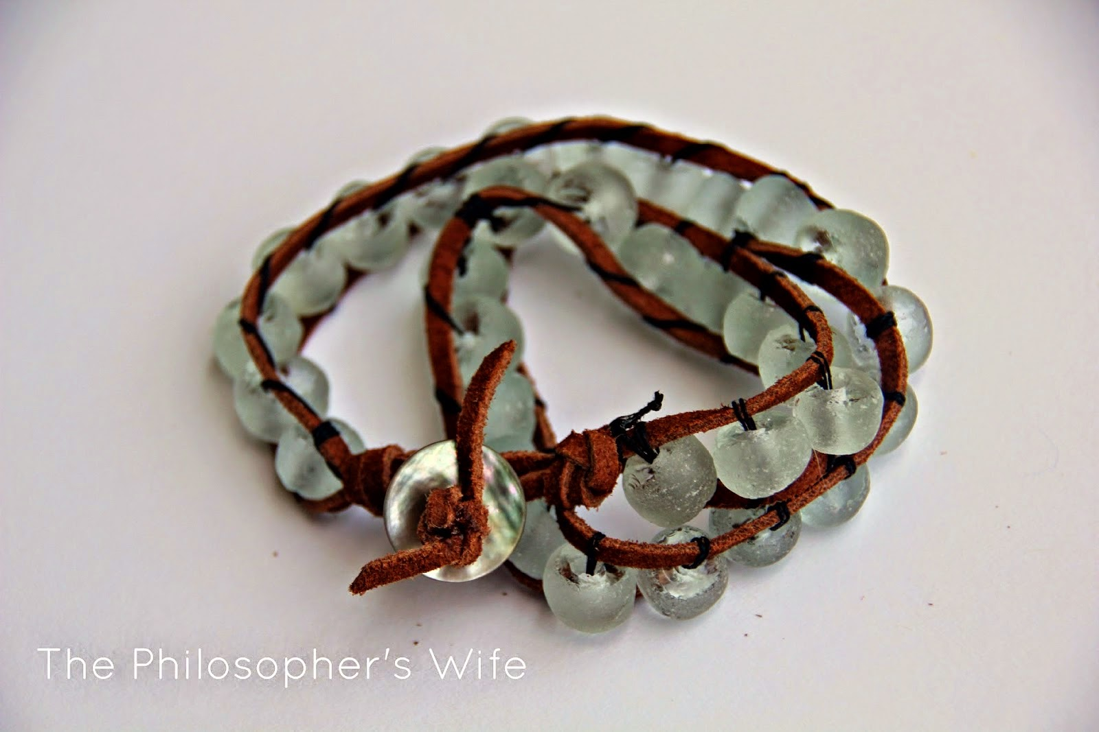 http://philwife.blogspot.com/2014/09/faux-leather-and-recycled-glass-beads.html