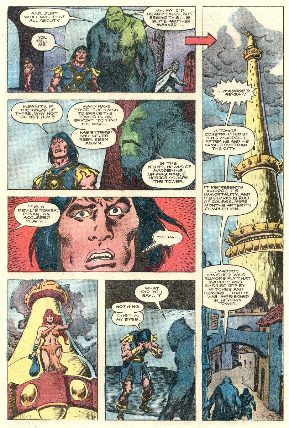 Conan the Barbarian (1970) Issue #181 #193 - English 6