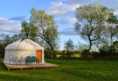Acorn Glade - glamping in Yorkshire, Daisy Yurt