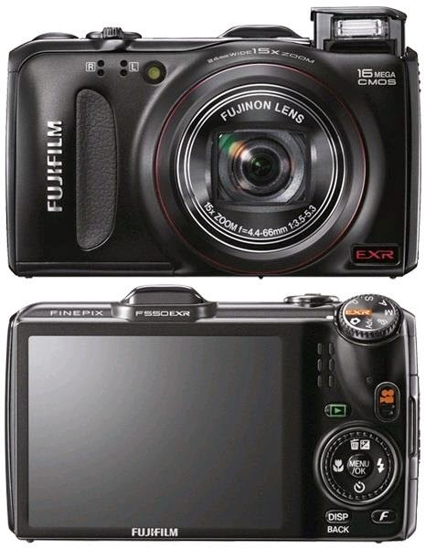 FUJIFILM FINEPIX F550EXR USER MANUAL