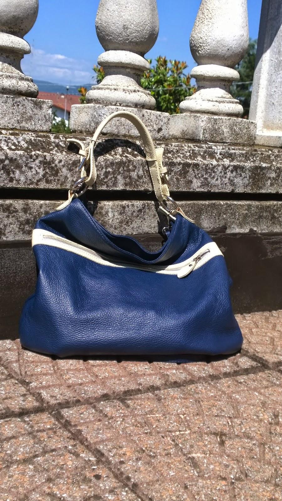 Evil blue bag