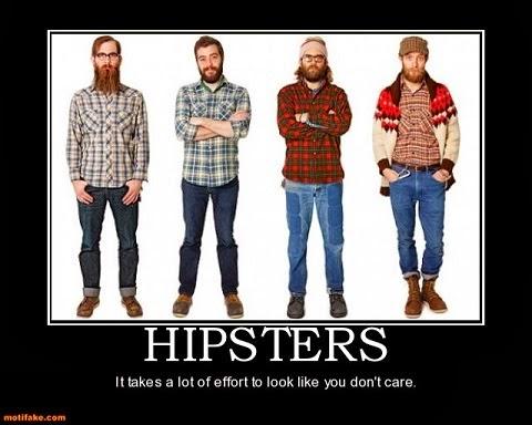 hipster lumberjack wannabe