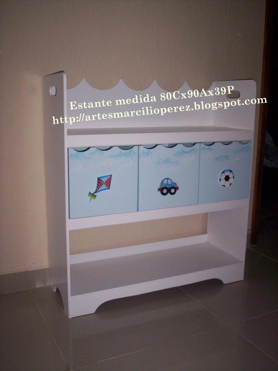 Estante organizadora com 3 caixas R$ 290,00