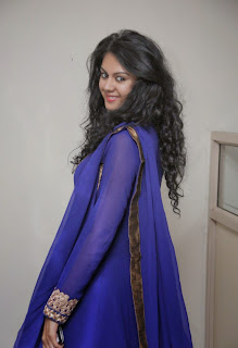 Kamna Jethmalani Cute Pictures in Blue Salwar Kameez ~ Bollywood and South Indian Cinema Actress Exclusive Picture Galleries