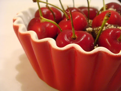 Chocolate-dipped cherries