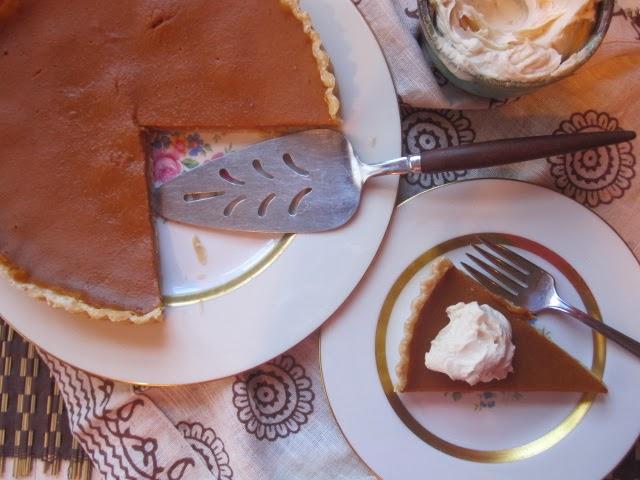 Stirring the Pot: Donna Hay's Pumpkin Pie with Brown Sugar Mascarpone