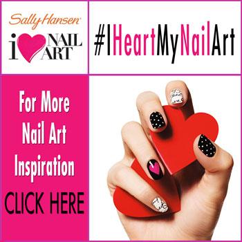 Sally Hansen #IHeartMyNailArt