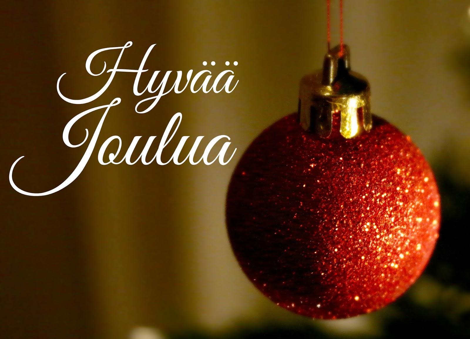 hyvää joulua Tavallista arkea: Hyvää joulua! hyvää joulua