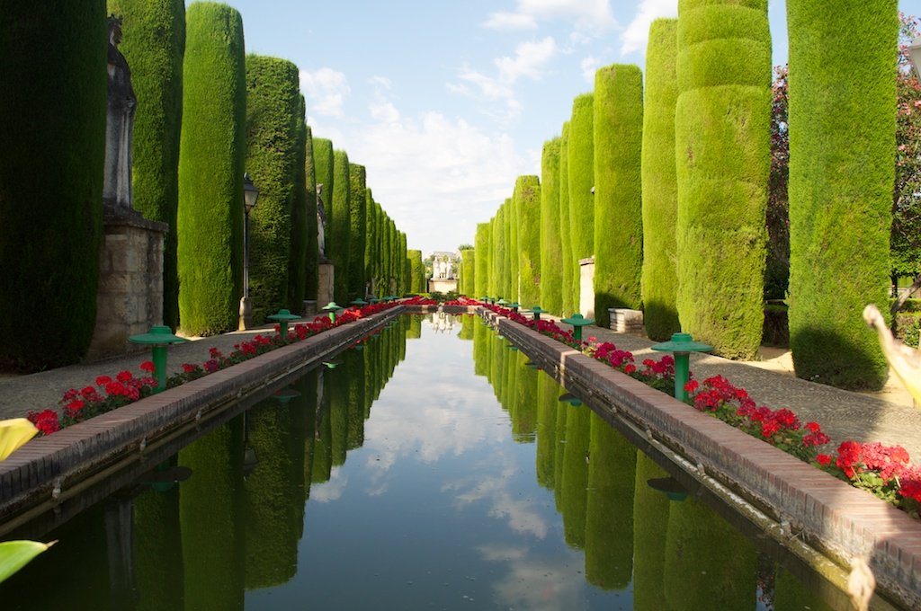 Arte y jardiner a jard n hispano rabe for Jardin hispano mauresque