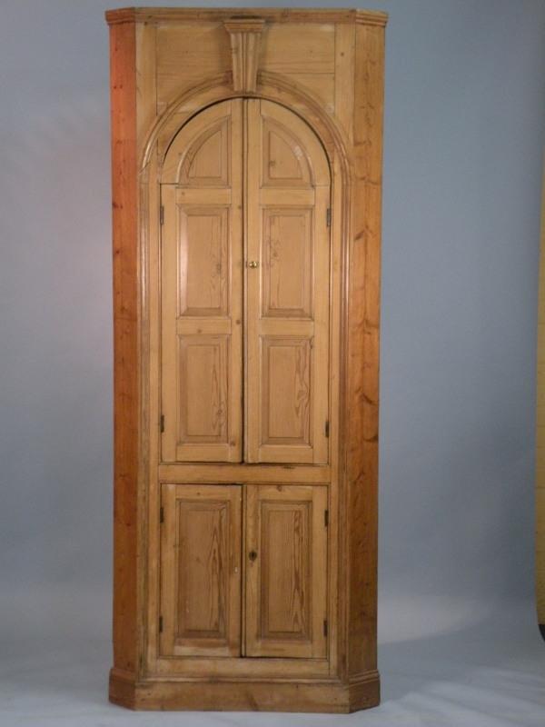 EARLY 19TH c Georgian Pine Corner Cupboard | Antiques-Lincoln GB
