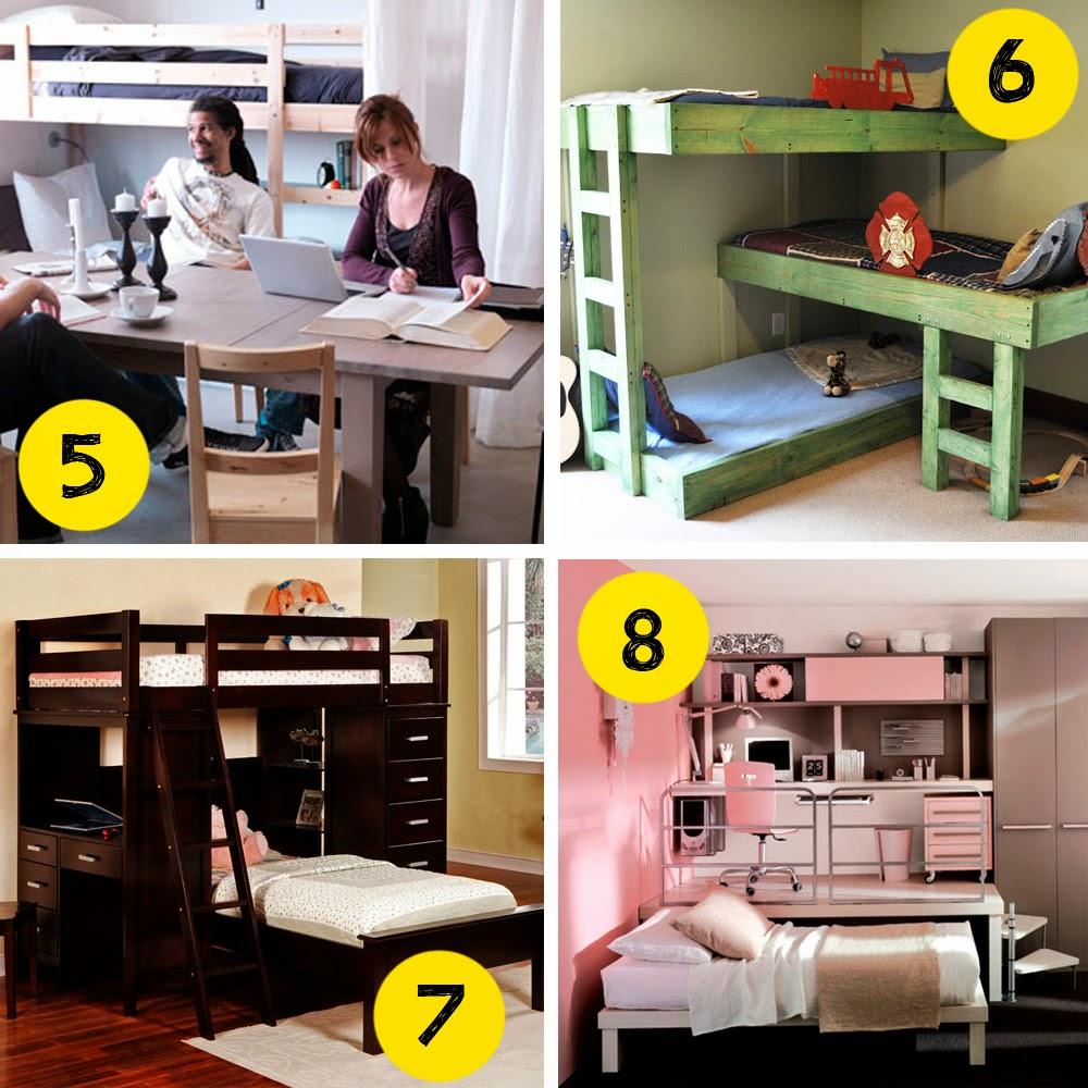 pequeño y barato dormitorios